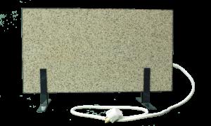 Электрообогреватель кварцевый - 0,35 кВт (Белый, напольный)