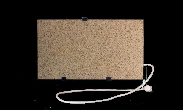 Электрообогреватель кварцевый с терморегулятором - 0,45 кВт (Белый) - Настенный