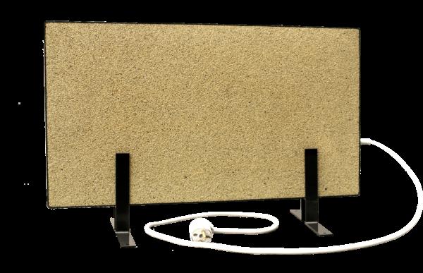 Электрообогреватель кварцевый - 0,35 кВт (Бежевый, напольный)