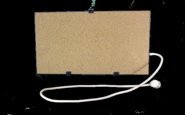 Электрообогреватель кварцевый - 0,35 кВт (Бежевый)