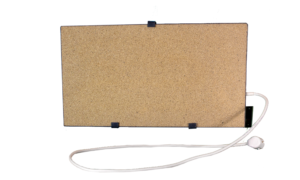 Электрообогреватель кварцевый с терморегулятором - 0,45 (Бежевый)