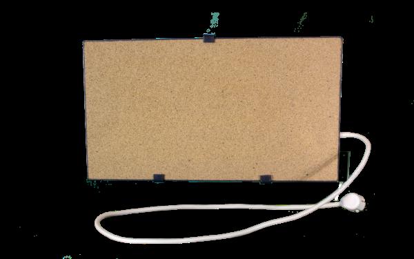 Электрообогреватель кварцевый с терморегулятором - 0,45 (Бежевый) - Настенный