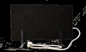 Электрообогреватель кварцевый - 0,35 кВт (Черный, напольный)