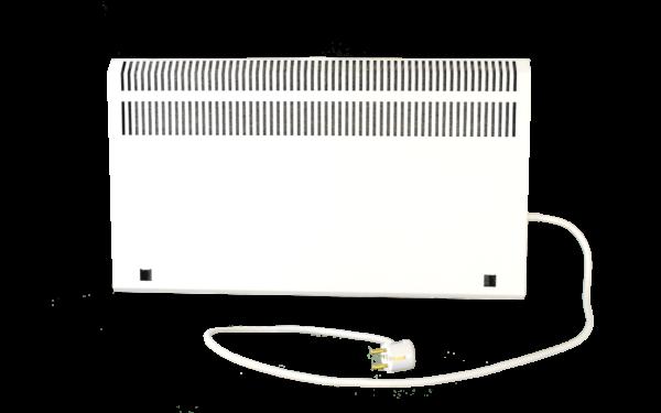 Электрообогреватель кварцевый с терморегулятором - 0,45 кВТ (Красный) - Напольный с экраном