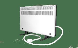 Электрообогреватель кварцевый - 0,45 кВт (Серо-белый)
