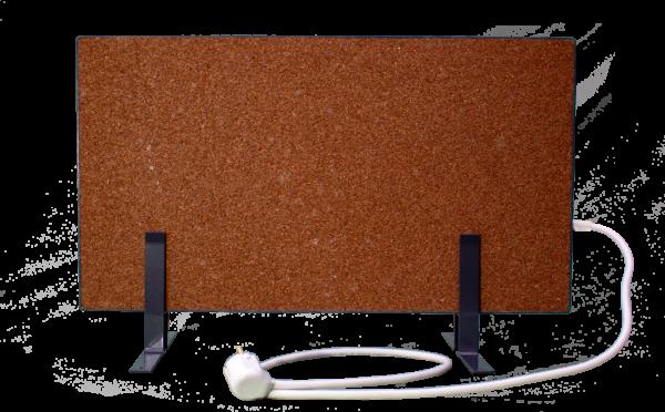 Электрообогреватель кварцевый - 0,35 кВт (Красный, напольный)
