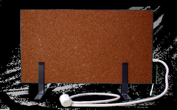 Электрообогреватель кварцевый с терморегулятором - 0,45 кВТ (Красный)