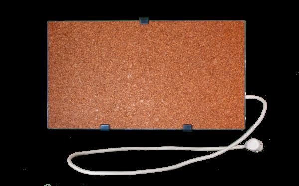 Электрообогреватель кварцевый - 0,35 кВт (Красный)