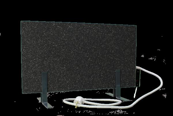 Электрообогреватель кварцевый с терморегулятором - 0,45 (Тёмно-серый) - Напольный