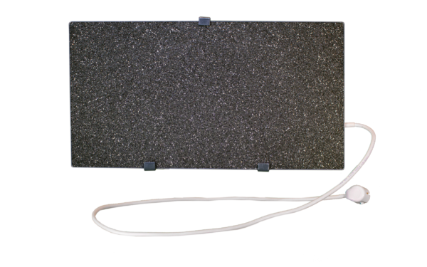Электрообогреватель кварцевый - 0,35 кВт (Серо-белый)