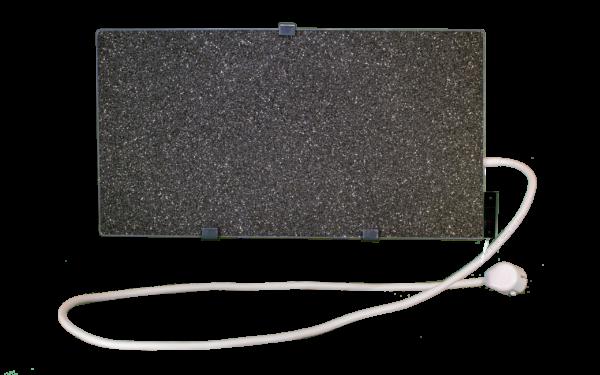 Электрообогреватель кварцевый с терморегулятором - 0,45 (Тёмно-серый) - Настенный