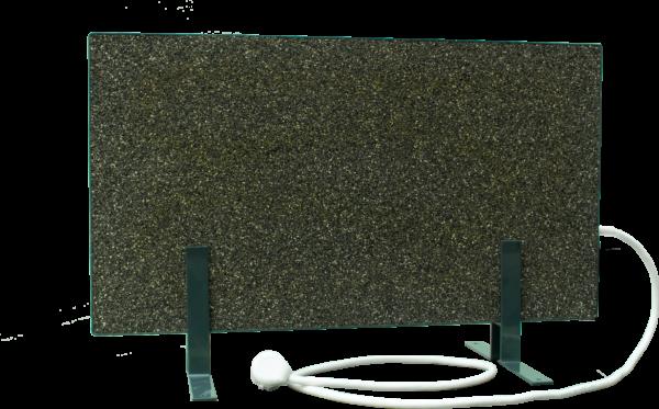 Электрообогреватель кварцевый - 0,35 кВт (Зелёный, напольный)