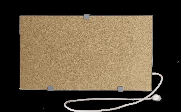 Электрообогреватель кварцевый - 0,35 кВт (Бело-Черный)